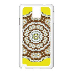 Pretty As A Flower Everywhere You Can See Samsung Galaxy Note 3 N9005 Case (white) by pepitasart