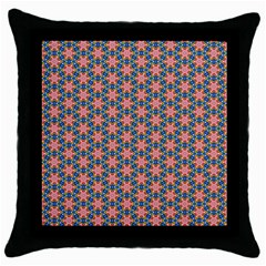 Background Pattern Texture Throw Pillow Case (black)