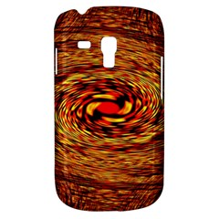 Orange Seamless Psychedelic Pattern Samsung Galaxy S3 Mini I8190 Hardshell Case by Jojostore