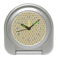 Star Basket Pattern Basket Pattern Travel Alarm Clock