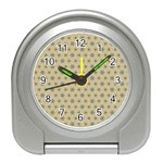 Star Basket Pattern Basket Pattern Travel Alarm Clock Front
