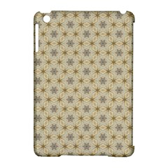 Star Basket Pattern Basket Pattern Apple Ipad Mini Hardshell Case (compatible With Smart Cover) by Jojostore