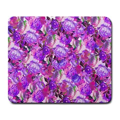 Flowers Abstract Digital Art Large Mousepads by Jojostore