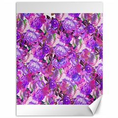 Flowers Abstract Digital Art Canvas 36  X 48  by Jojostore