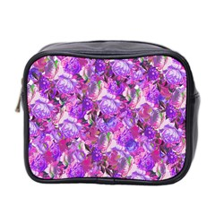 Flowers Abstract Digital Art Mini Toiletries Bag (two Sides) by Jojostore