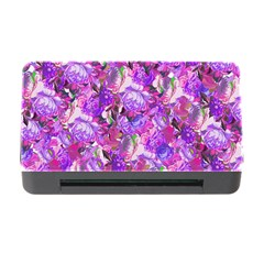 Flowers Abstract Digital Art Memory Card Reader With Cf