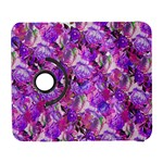 Flowers Abstract Digital Art Samsung Galaxy S  III Flip 360 Case Front