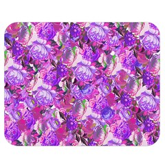 Flowers Abstract Digital Art Double Sided Flano Blanket (medium)