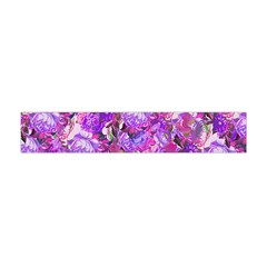 Flowers Abstract Digital Art Flano Scarf (mini)