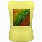 Bubbles Rainbow Colourful Colors Women s Yellow Tank Top Back