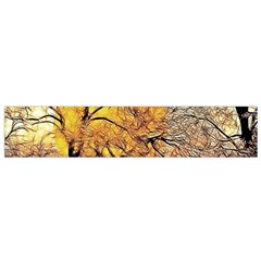 Summer Sun Set Fractal Forest Background Small Flano Scarf