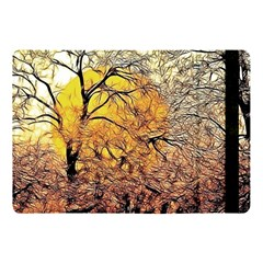 Summer Sun Set Fractal Forest Background Apple Ipad Pro 10 5   Flip Case