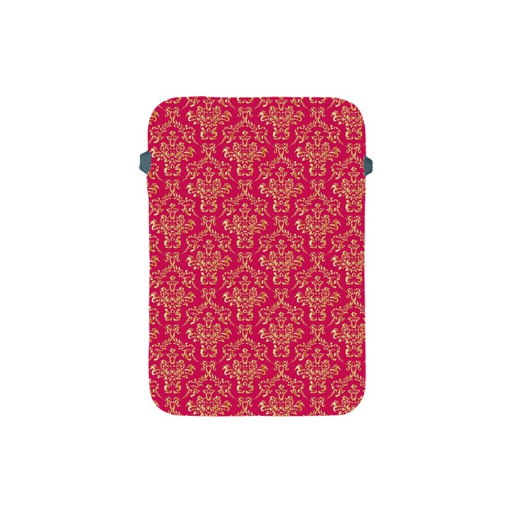 Damask Background Gold Apple iPad Mini Protective Soft Cases