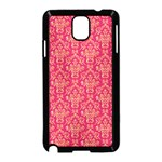 Damask Background Gold Samsung Galaxy Note 3 Neo Hardshell Case (Black) Front