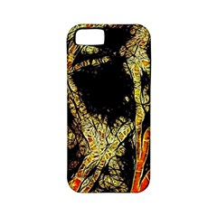 Artistic Effect Fractal Forest Background Apple Iphone 5 Classic Hardshell Case (pc+silicone) by Jojostore