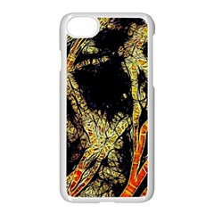Artistic Effect Fractal Forest Background Apple Iphone 8 Seamless Case (white) by Jojostore