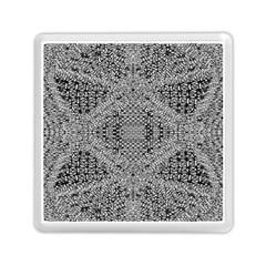 Gray Psychedelic Background Memory Card Reader (square) by Jojostore