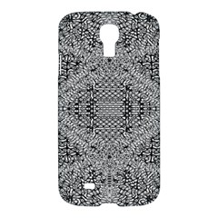 Gray Psychedelic Background Samsung Galaxy S4 I9500/i9505 Hardshell Case