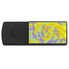 Backdrop Background Abstract Rectangular Usb Flash Drive by Jojostore