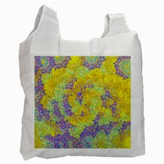 Backdrop Background Abstract Recycle Bag (one Side)