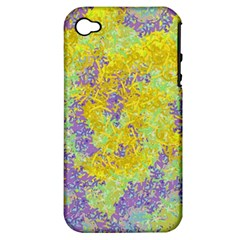 Backdrop Background Abstract Apple Iphone 4/4s Hardshell Case (pc+silicone) by Jojostore