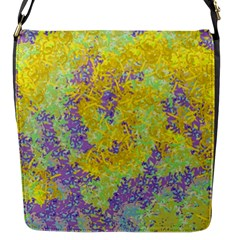 Backdrop Background Abstract Flap Closure Messenger Bag (s)