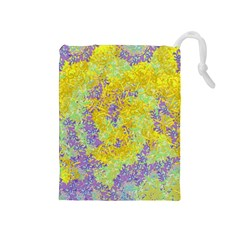 Backdrop Background Abstract Drawstring Pouch (medium)