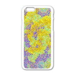 Backdrop Background Abstract Apple Iphone 6/6s White Enamel Case by Jojostore