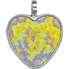 Backdrop Background Abstract Heart Necklace by Jojostore
