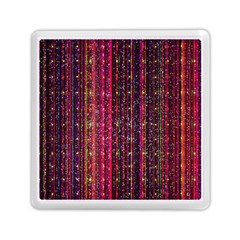 Colorful And Glowing Pixelated Pixel Pattern Memory Card Reader (square) by Jojostore