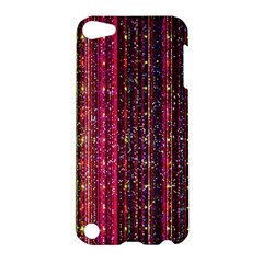 Colorful And Glowing Pixelated Pixel Pattern Apple Ipod Touch 5 Hardshell Case by Jojostore