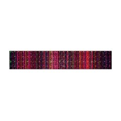 Colorful And Glowing Pixelated Pixel Pattern Flano Scarf (mini)