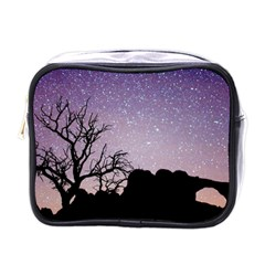 Arches National Park Night Mini Toiletries Bag (one Side)