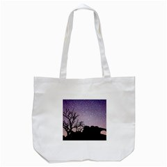 Arches National Park Night Tote Bag (white)