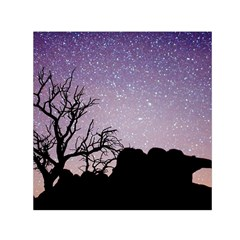 Arches National Park Night Small Satin Scarf (square)