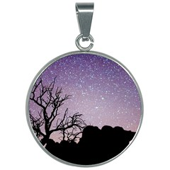 Arches National Park Night 30mm Round Necklace by Jojostore