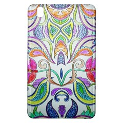 Wallpaper Created From Coloring Book Samsung Galaxy Tab Pro 8 4 Hardshell Case by Jojostore