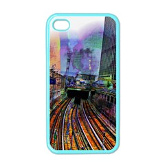 Downtown Chicago Apple Iphone 4 Case (color) by Jojostore