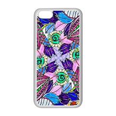 Wallpaper Created From Coloring Book Apple Iphone 5c Seamless Case (white) by Jojostore
