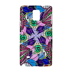 Wallpaper Created From Coloring Book Samsung Galaxy Note 4 Hardshell Case by Jojostore