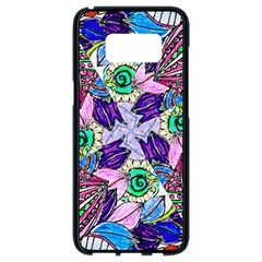 Wallpaper Created From Coloring Book Samsung Galaxy S8 Black Seamless Case