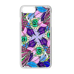 Wallpaper Created From Coloring Book Apple Iphone 8 Plus Seamless Case (white)