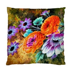 Flowers Artwork Art Digital Art Standard Cushion Case (two Sides) by Jojostore