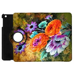 Flowers Artwork Art Digital Art Apple Ipad Mini Flip 360 Case by Jojostore