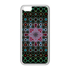 Digital Art Background Colors Apple Iphone 5c Seamless Case (white) by Sapixe