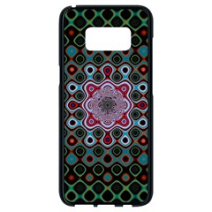 Digital Art Background Colors Samsung Galaxy S8 Black Seamless Case