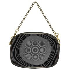 Digital Art Background Black White Chain Purse (one Side) by Sapixe