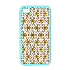 Seamless Wallpaper Background Apple Iphone 4 Case (color)