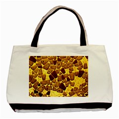 Yellow Cast Background Basic Tote Bag by Jojostore
