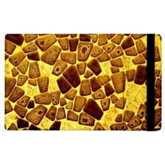 Yellow Cast Background Apple Ipad 3/4 Flip Case by Jojostore